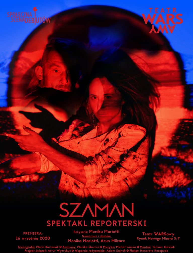 Szaman. Spektakl reporterski
